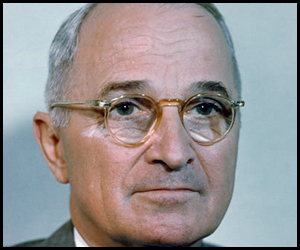 Harry Truman Photograph